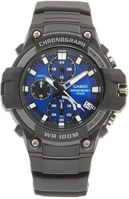 Casio Men's World Time Telememo Analog-Digital Watch - AEQ110W-2A2OS