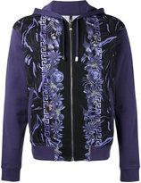 Versus floral print hoodie - men - Cotton - S