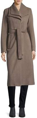 T Tahari Knee-Length Wrap Coat