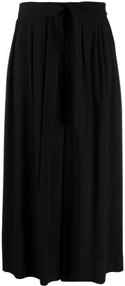 Loewe Tie-Waist Wide-Leg Trousers