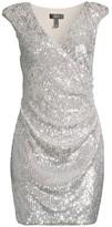 Aidan Mattox Sequin Cocktail Dress