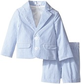 Mud Pie Seersucker Short Suit (Infant)
