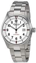 Alpina Startimer Pilot Dial Stainless Steel Men's Watch AL-240S4S6B