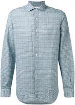 Boglioli checked shirt - men - Cotton/Linen/Flax - 43
