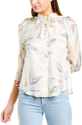 Zadig & Voltaire Touch Paradise Satin Shirt