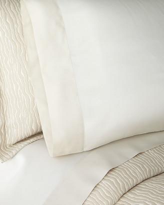 Sferra Pair of Larro Sateen Standard Pillowcases