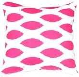 Festive Home Decor Chipper Candy Pink Pillow Cover, 20 x 20""