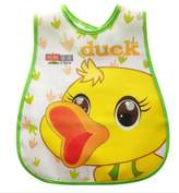 Kylin Express Infant Saliva Towel Lovely Baby Bib Home/Travel Bib Soft,Waterproof,Yellow Duck