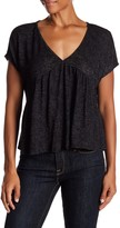 Velvet by Graham & Spencer Kathryn Textured Knit Blouse