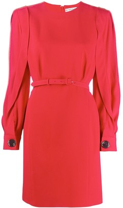 Givenchy Puff-Sleeve Belted Dress