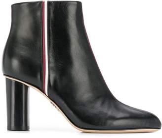 Rodo side stripe ankle boots