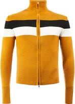 Wales Bonner striped zip-up jumper