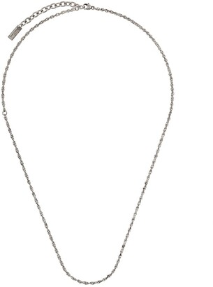 Saint Laurent Thin Byzantine Necklace