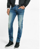 Express slim fit slim leg performance stretch jeans