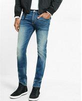 Express slim fit slim leg performance stretch jeans