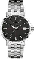 Bulova Classic Mens Stainless Steel Watch 96B244
