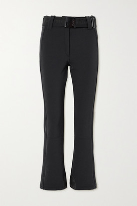 Goldbergh Pippa Belted Flared Ski Pants - Black
