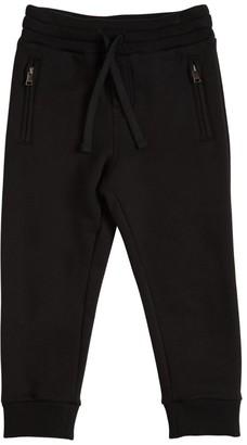 Dolce & Gabbana Logo Cotton Sweatpants