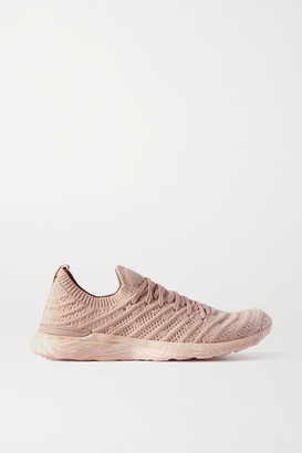 APL Athletic Propulsion Labs Techloom Wave Mesh Sneakers - Pink