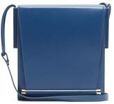 Roksanda Box Medium Leather Shoulder Bag - Womens - Blue