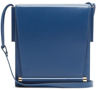 Roksanda Box Medium Leather Shoulder Bag - Womens - Blue