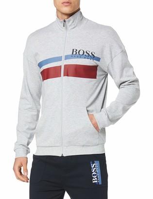 BOSS Authentic Jacket Z Sweat Top in Blue