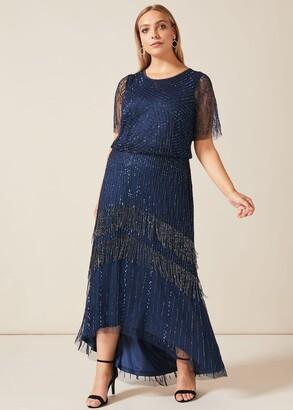 Phase Eight Evadine Beaded Maxi Dress