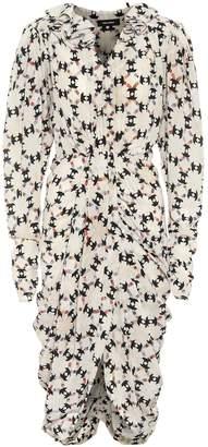 Isabel Marant Blandine stretch-silk midi dress