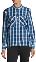 Joe's Jeans Aislin Plaid Cotton Shirt