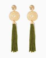 Charming charlie Tassels Of Grandeur Earrings