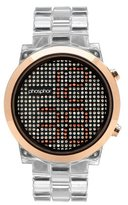 Phosphor Women's MD010L Swarovski Mechanical Digital Watch