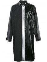 Adidas Originals by Alexander Wang patch long coat