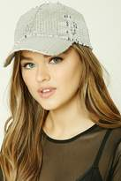 Forever 21 Sequined Baseball Cap