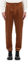 Faith Connexion Men's Cotton Corduroy Trousers-TAN