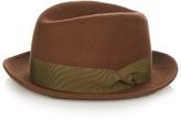 Giorgio Armani Fedora Wool-felt Hat