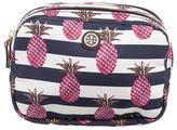 Tory Burch Pineapple Printed Cosmetic Bag