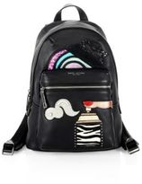 Marc Jacobs Verhoeven Leather Biker Backpack