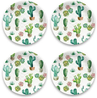 Tarhong Desert Garden Dinner Plate, Set of 4