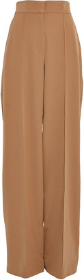 Sara Battaglia High-Waist Suiting Trousers
