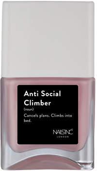 Nails Inc Nailsinc NAILSINC Life Hack Nail Polish 14ml Anti Social Climber
