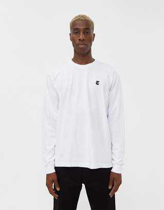 The New York Times L/S Truth Tee in White