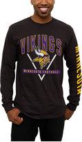 Junk Food Clothing Men's Minnesota Vikings Nickel Formation Long Sleeve T-Shirt