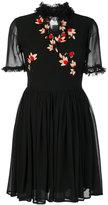 Blugirl embroidered ruffle dress