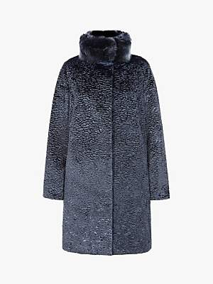 Four Seasons Astrakhan Faux Fur Coat