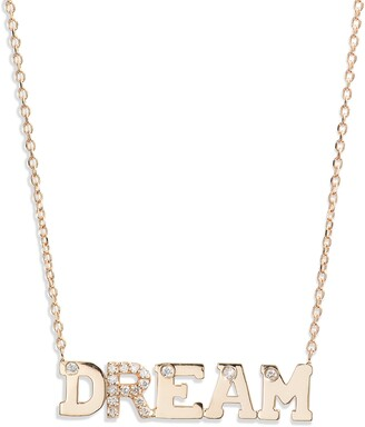 Anzie Love Letter Dream Diamond Necklace