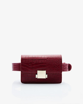 Le Château Croco Embossed Belt Bag