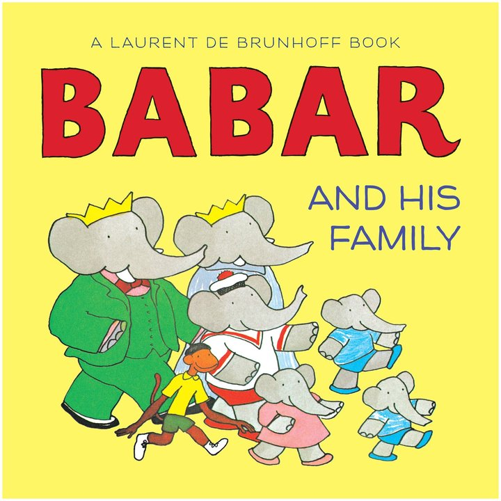 Babar Abrams Appleseed and His Family (Board Book)