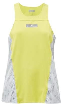 adidas by Stella McCartney Run Stretch-knit Tank Top - Womens - Green