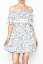 Paper Crane Flounce Dress