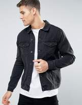 New Look New Look Denim Jacket In Black